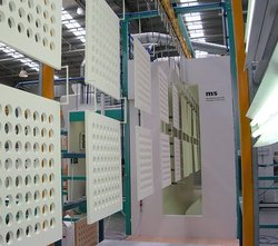 Jupiter Aluminium Automatic Powder Coating Booth