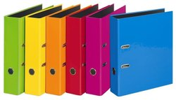 Mutli Color PVC Lever Arch Files A4 Size