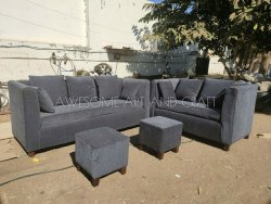 Fabric Sofa Set, For Home, Seating Capacity: 7 Seater