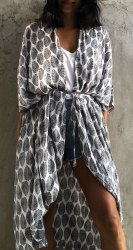 Ladies Digital Printed Kimono