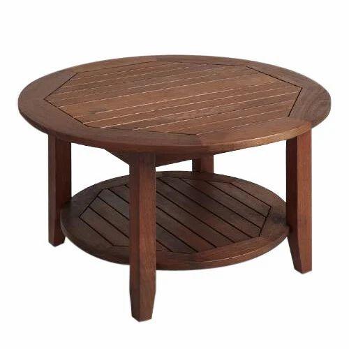 Attirant Wooden Tea Table