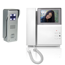 Plastic Video Door Phone Systems, LCD Monitor Size : 4 To 5.6 Inches