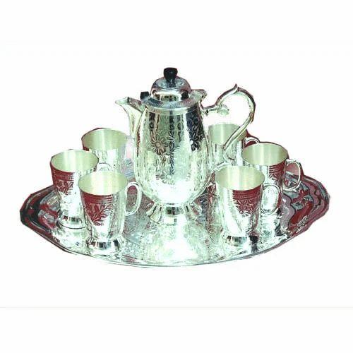 sc 1 st  IndiaMART & Tea Sets - Gold And Silver Plated Tea Set Manufacturer from Moradabad