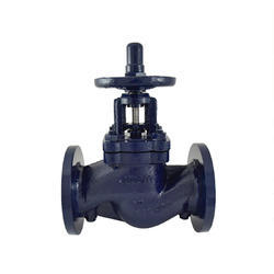 Double Regulating Balancing Valve Flanged With Nozzle