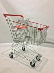 Stainless Steel Supermarket Trolley