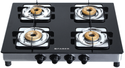 Black Cooktop Glass, Model Name/number: Supreme Plus 4 Bb Ai, Size: 63