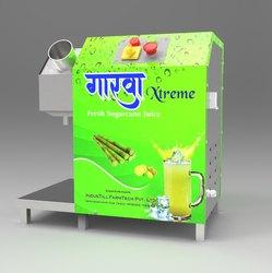 Stainless Steel Gaarwa Xtreme 1 HP Sugarcane Juice Machine
