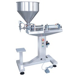 Semi Automatic Paste Filling Machine / Hand Sanitizer Filling Machine