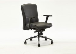 Leatherette Midback Office Chair