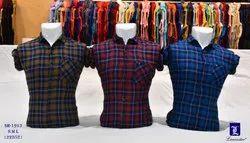 Men's & Boy's Checks Shirts