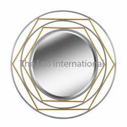 Designer metal mirror for home decoration