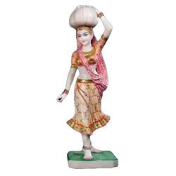 Lady Marble Statue
