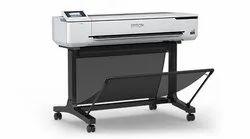 Cmyk EPSON T5130 CAD Printer, Inkjet