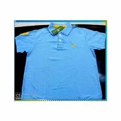 Light Blue Matty Cotton T- Shirt