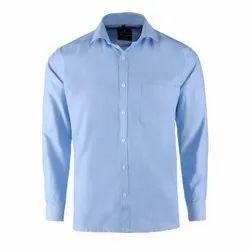 Formal Wear Cotton Men Plain Formal Shirts