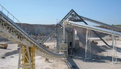 Industrial Belt Conveyor System