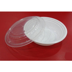 Milky Plastic Container