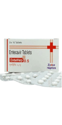Entehep 0.5mg Entecavir Tablets