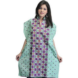 Available In Many Colors Cotton Ladies Handcrafted Designer Kurti