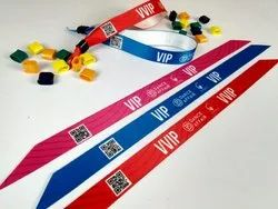 Barcode Fabric Wristbands