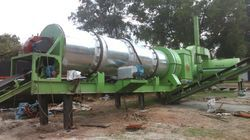 Stationary Drum Mix Plant