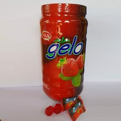 Tulsi Gelo Strawberry Jelly Candy, Packaging Type: Plastic Jar