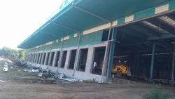 Steel Preengineered Prefabricated Factory Shed