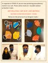 Reusable cotton masks