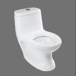 9011 White One Piece Toilet