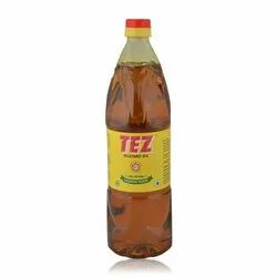 Kachchi Ghani Filtered Tez Mustard Oil, Packaging Type: Plastic Bottle, Packaging Size: 1 litre
