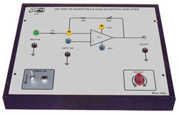 Op - Amp as Amplifier ( Inverting) Trainer