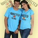 Sf Cotton Couple Tshirt, Size: M L Xl