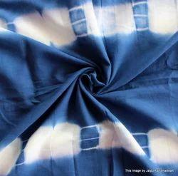 Indigo Shibori Print Tie Dye Fabric