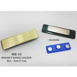 GOLDEN MAGNET NAMEBADGE