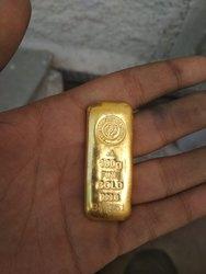 24 K Golden Gold Necklace, 100 Grm