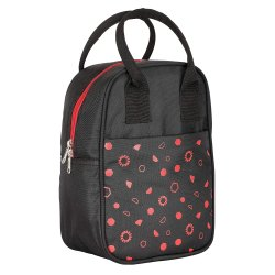 Printed Polyester Lunch Bag for School, Collage
