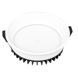 12 W Cool White 12w Round LED Down Light, IP40