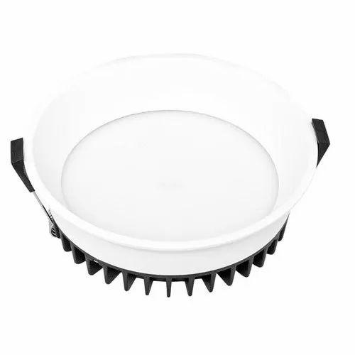 12 W Cool White 12w Round LED Down Light, IP40