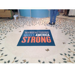 Floor Graphics Vinyl Sticker