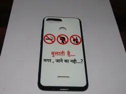 Plastic Samsung Mobile Cover Quotes Slogan