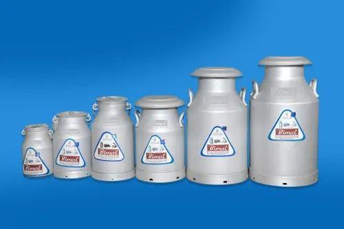 Aluminium Milk Cans