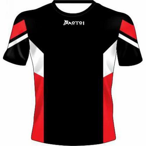 Nylon Half Sleeves Sports Sublimated Jersey 3cb9f231b