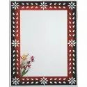 Nutan Designer Border Printed Glass Mirror