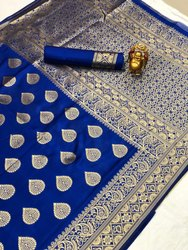Banarasi Weaving Handloom Weaving Silk Saree
