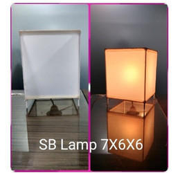 Square SB Lamp Shade personalised Sublimation Photo Designer