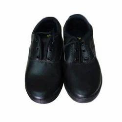 Black Kids School Wear Shoes