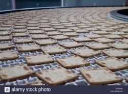 Steel Biscuit Conveyor Belt, Thickness: Upto 15 Mm