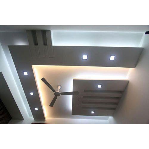 Gypsum And Pop Bedroom False Ceiling Rs 62 Square Feet