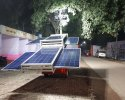 2 Kw Telescopic Mobile Solar Tower Light with 9 Mtr. Mast