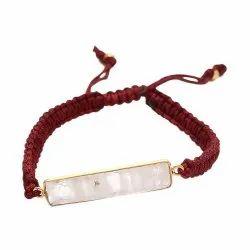 Thread Bracelets Rainbow Moonstone Bracelet